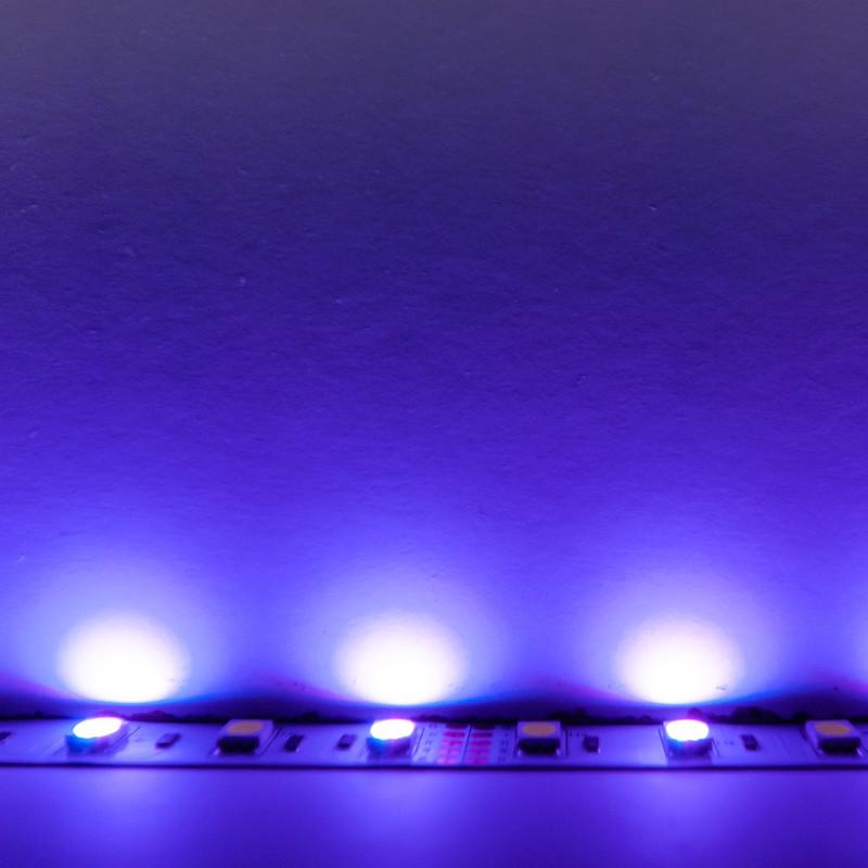 LED Streifen 5m | RGB-Weiß  | 12V 72W IP20 | dimmbar – Bild 10