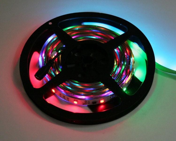 LED Streifen 5m | RGB  | 12V 36W IP20 | 150 LEDs | dimmbar – Bild 3