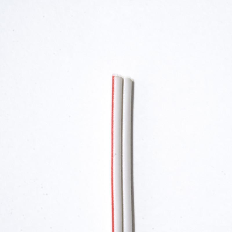 1m Anschlusskabel 2polig weiß, 2x0,75mm² max. 8A – Bild 2
