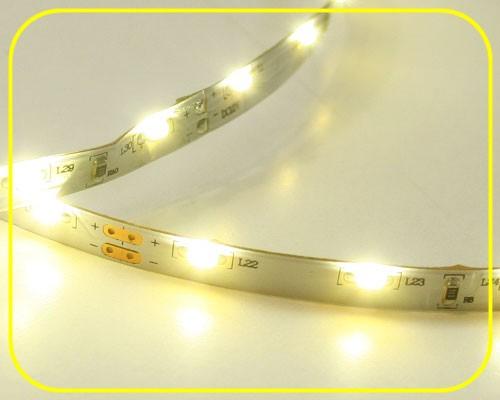 LED Streifen 5cm | Warmweiß  | 12V 0,24W IP20 | 3 LEDs | dimmbar | Sideview – Bild 1