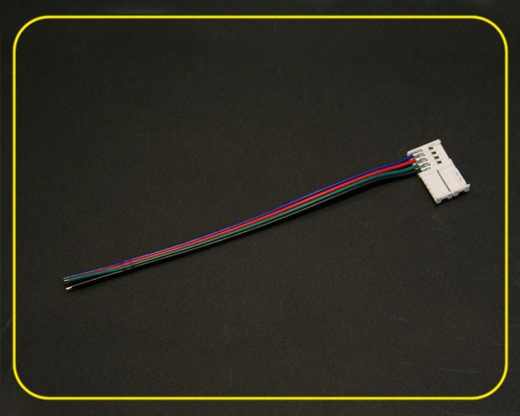 Einspeiser 4-adriges Kabel für RGB LED Streifen – Bild 2