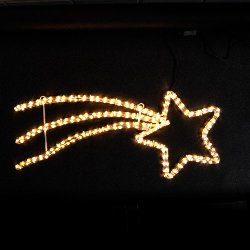 LED Motiv: Kleiner Komet 85 x 45 cm – Bild 3