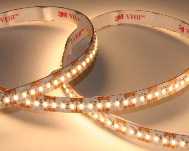 LED Streifen 2,94cm | Warmweiß  | 24V 0,72W IP20 | 6 LEDs | dimmbar | max.7m