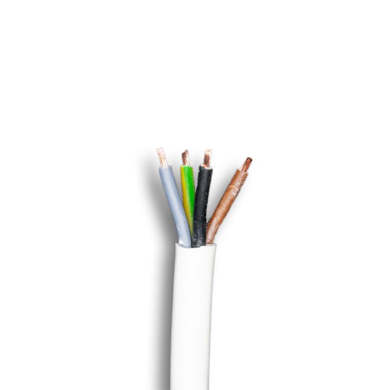 Anschlusskabel 4 polig weiß - Außen IP65