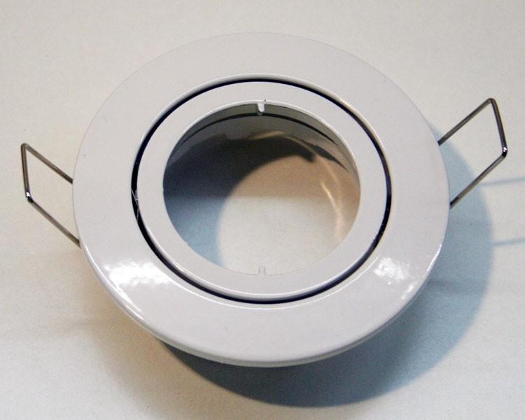 Druckguss Einbaurahmen weiß mit Klickverschluß – Bild 1