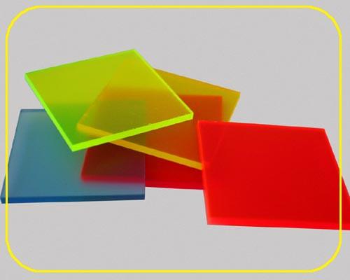 satinierte Leuchtplatte 3mm | 335x250 mm | Gelb – Bild 2