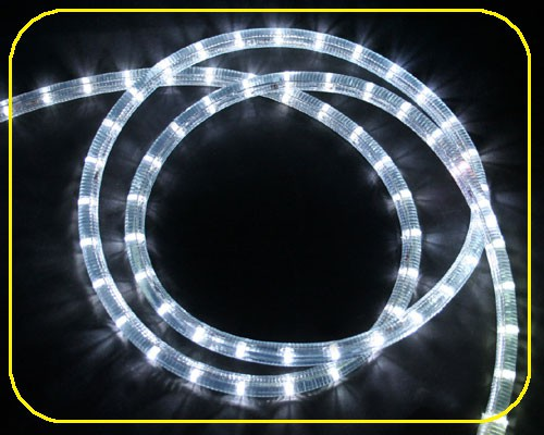 24V LED Lichtschlauch Kaltweiß | 33,3 cm Abschnitt | Ø 13mm – Bild 1