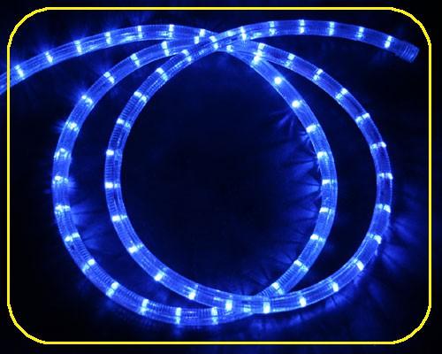 LED Lichtschlauch 24V Blau | Abschnitt 33,3 cm – Bild 1