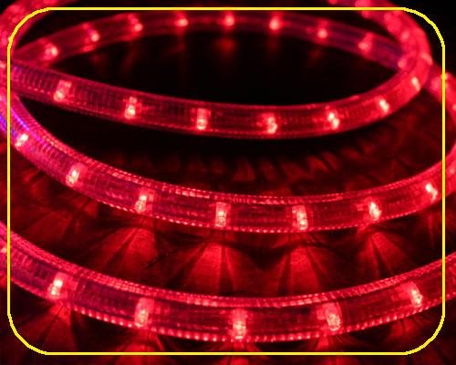 24V LED Lichtschlauch Rot | 28cm Abschnitt  – Bild 1