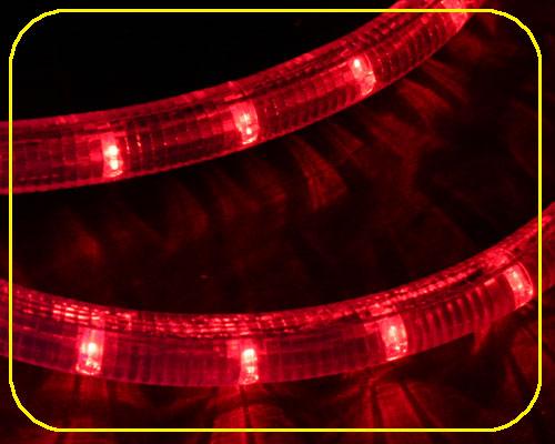 24V LED Lichtschlauch Rot | 28cm Abschnitt  – Bild 3