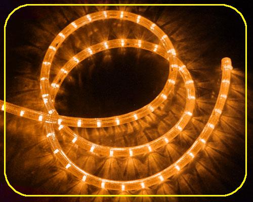 24V LED Lichtschlauch Gelb | 28cm Abschnitt  – Bild 2