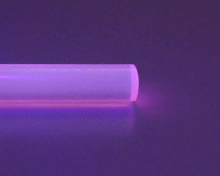 2m Glow PVC Rundstab fluo rosa Ø 10 mm – Bild 2