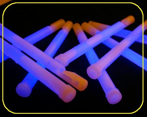 15cm Knicklicht Easy Light blau Ø 12 mm – Bild 2