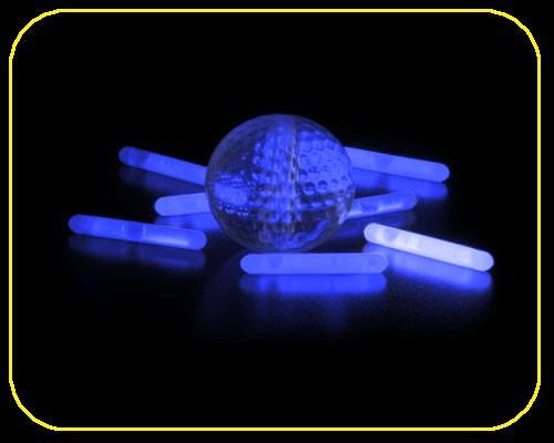 50x MINI Knicklichter -  blau