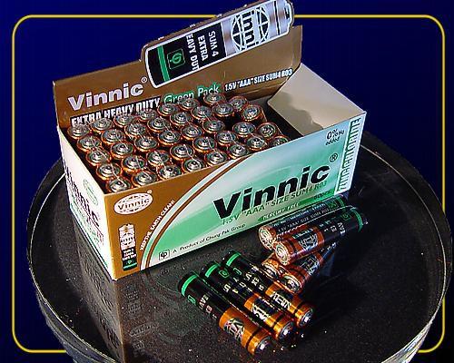 Batterien 1,5 V, AAA Micro