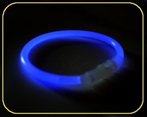 Knicklicht Armbänder blau, 100 Stk.