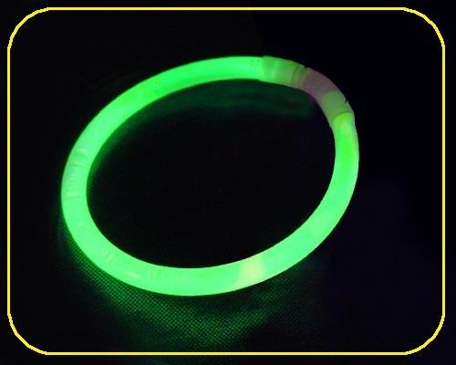 Knicklicht Armbänder grün , 100 Stk.