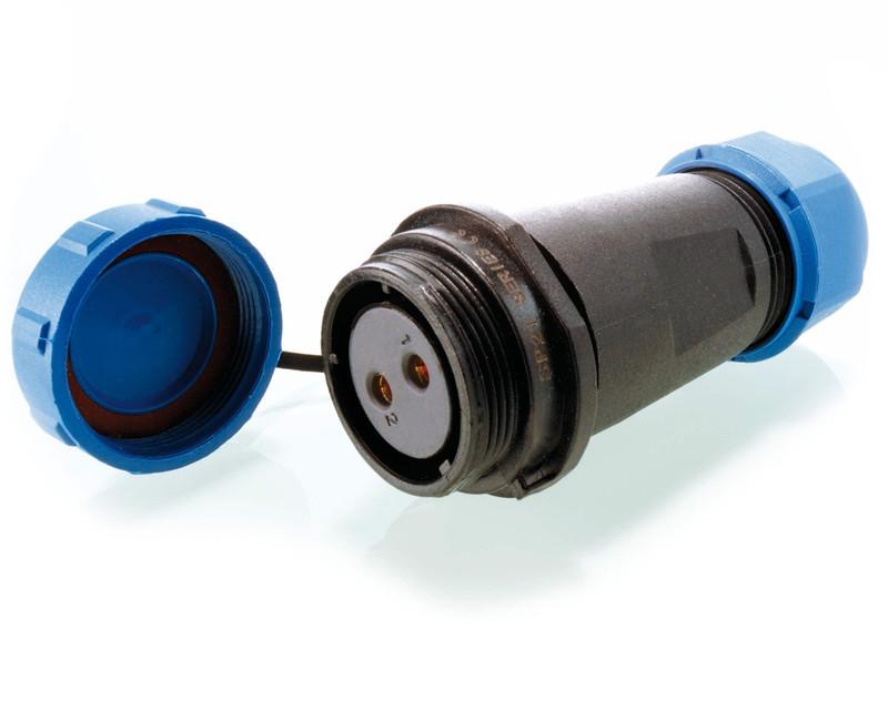 Weipu Buchse 2-polig 24V DC - Kabelsystem