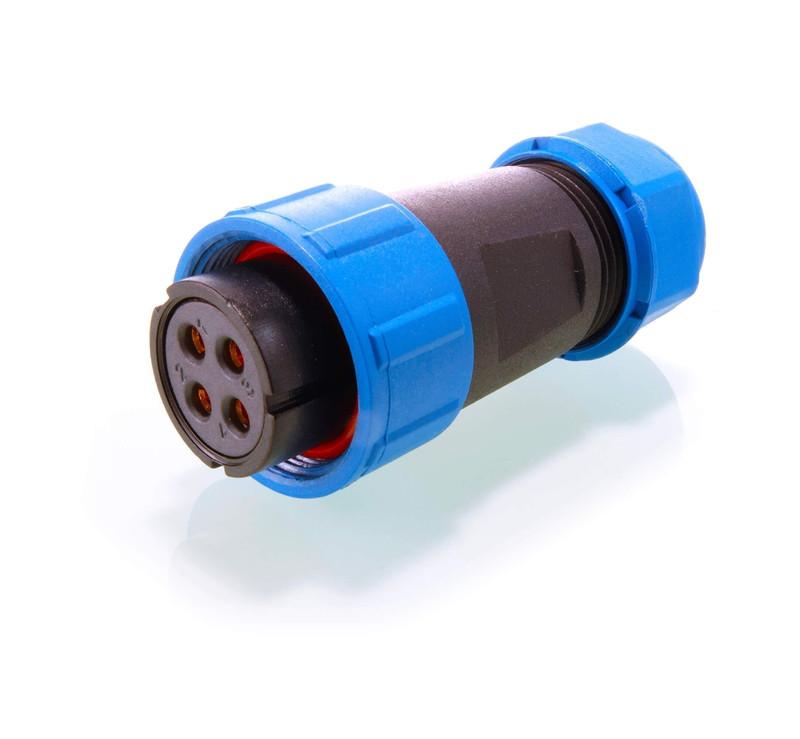 Weipu Buchse Sonder 4-polig 24V DC - Kabelsystem