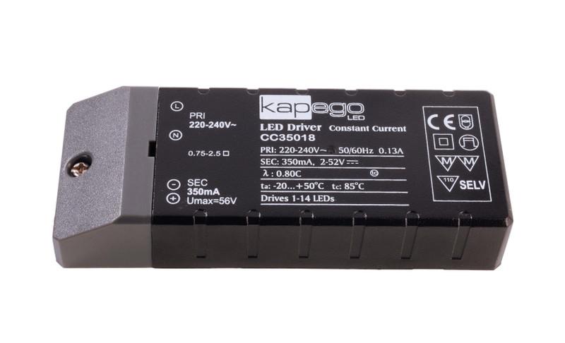 BASIC, CC35018 350 mA 2-52V DC Schwarz 230V AC 18 W - Netzgerät – Bild 1