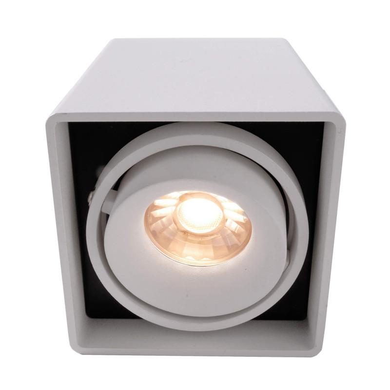 Mona I weiß 230V AC 1x max. 50 W - Deckenaufbauleuchte – Bild 3