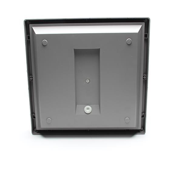 20W Quadrata III, grau, 230V, 3000K, IP65, Deckenaufbauleuchte, – Bild 5