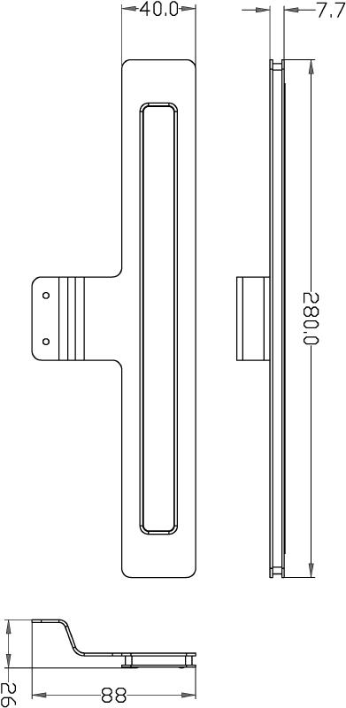 Korona silberfarben 100° 12V DC 7 W 460 lm 3000 K - Möbelaufbauleuchte – Bild 4