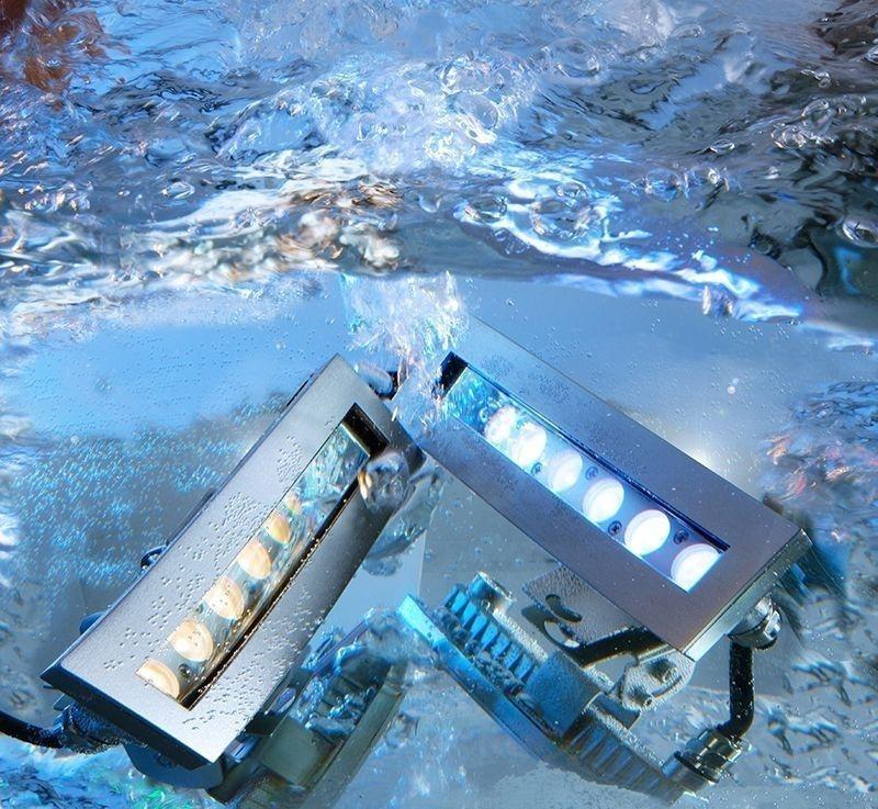 Unterwasserleuchte, Coral I WW, 24V DC, 12W, 3000K – Bild 2