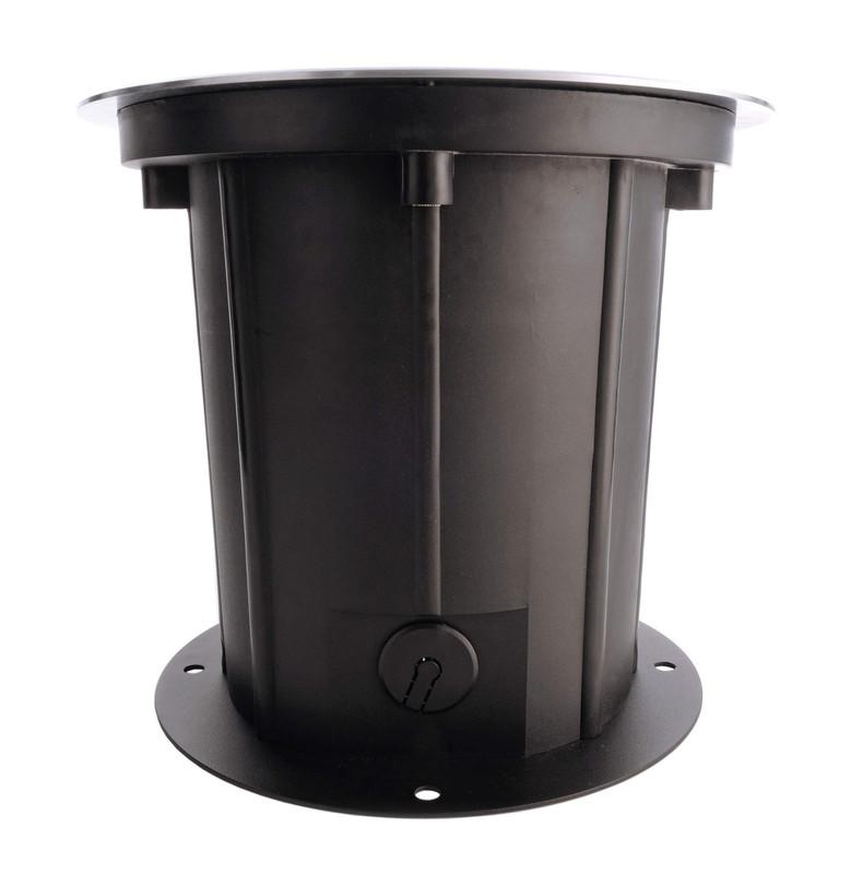 COB 25 Soft WW silberfarben 35° 230V AC 25 W 1650 lm 3000 K - Bodeneinbauleuchte – Bild 4