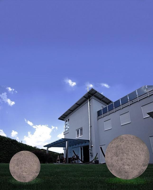 Kugelleuchte Granit 38 grau 230V AC 1x max. 42 W - Dekorative Leuchte – Bild 3