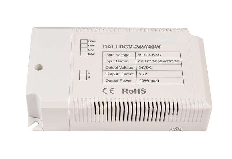 DCV-24V/40W Integration in DALI-Netzwerke 24V DC Weiß 230V AC 40 W - Netzgerät – Bild 1