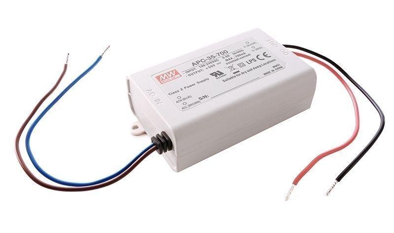 APC-35-700 700 mA 15-50V DC Weiß 180-264V AC/50-60Hz 35 W - Netzgerät