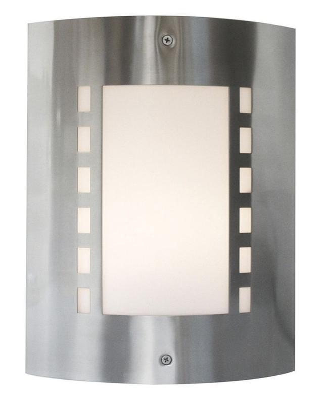 Wall I silberfarben 230V AC 1x max. 40 W - Wandaufbauleuchte – Bild 1