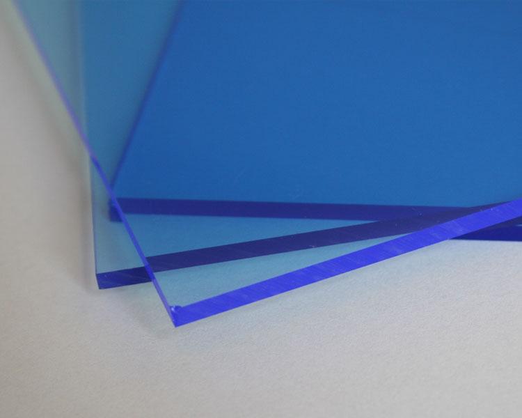 Lucy Leuchtplatte 10 mm | 2030 x 1520 mm | blau – Bild 1