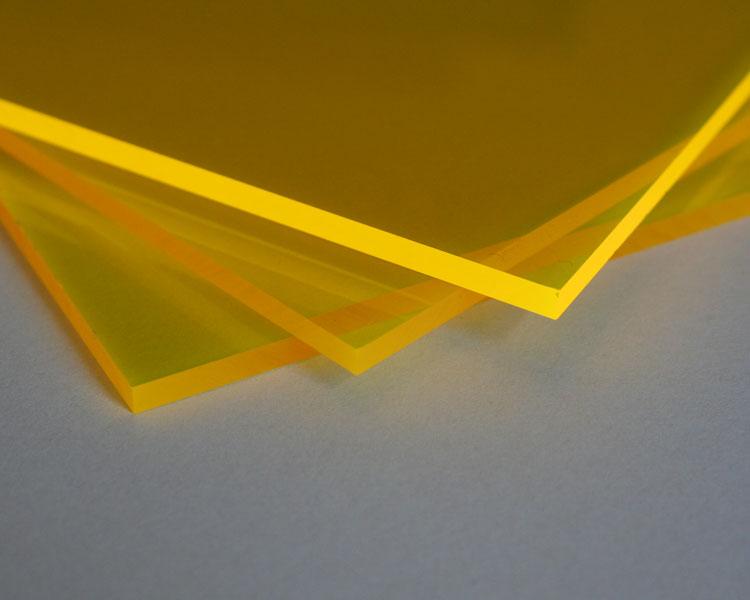 Lucy Leuchtplatte 10 mm | 2030 x 1520 mm | gelb – Bild 1