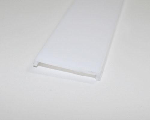 2m U-Profil | Alu | 35x35mm | weiß matte Abdeckung  – Bild 7