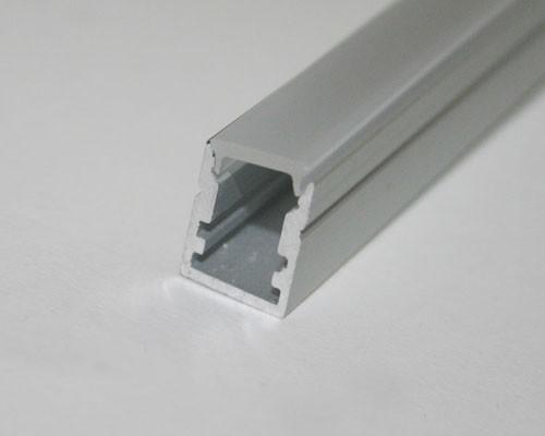 2m Mini U-Profil | Alu | 10x13mm | milchige Abdeckung – Bild 6