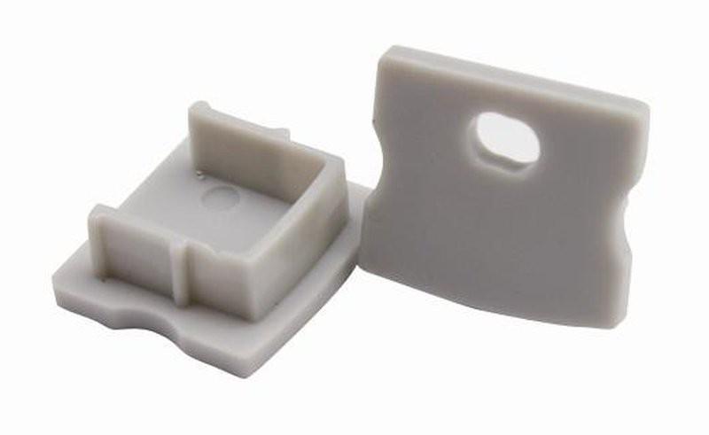 2 Endkappen für 126-261 Alu Profil 17x15mm – Bild 1