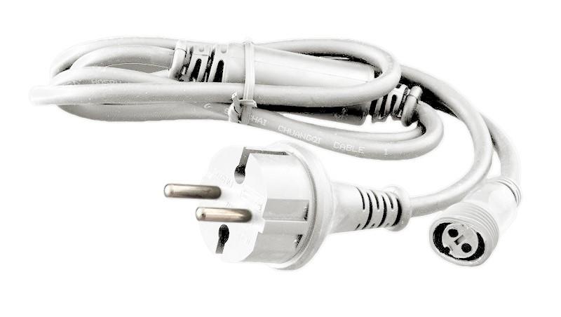 Lichterketten Netzkabel weiß 1,5m,15.000LED