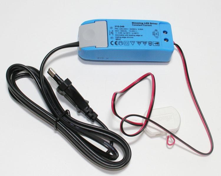 LED Netzteil 9W | TRIAC Dimmbar | Konstantstrom 350 mA | IP20 – Bild 1
