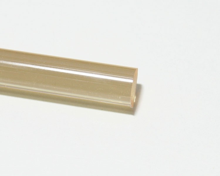 1 m Glow PVC Rundstab fluo hellblau Ø 10 mm – Bild 4