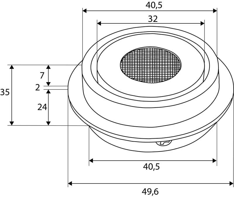 LED Einbaustrahler COB 3,3W | 3000K | 350mA | 300lm | A+  – Bild 3