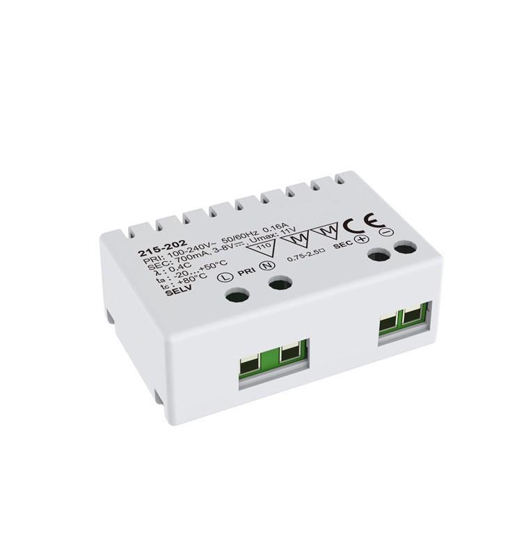 LED Netzteil 6W | Nicht Dimmbar | Konstantstrom 700 mA | IP20