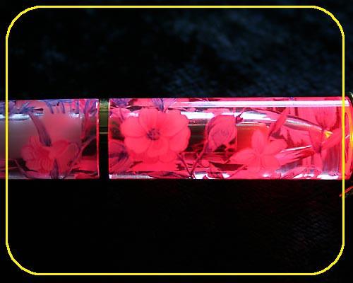 roter Leuchtkugelschreiber LED rot – Bild 4