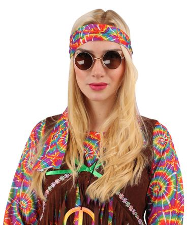 Flower-Hippie Kostüm für den Karneval oder Fasching – Bild 5