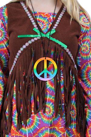 Flower-Hippie Kostüm für den Karneval oder Fasching – Bild 6