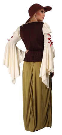 Lady Marian Kostüm für den Karneval oder Fasching – Bild 4