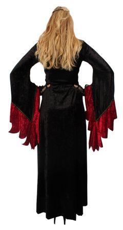 Böse-Königin Kleid in Samt, Kleid – Bild 4