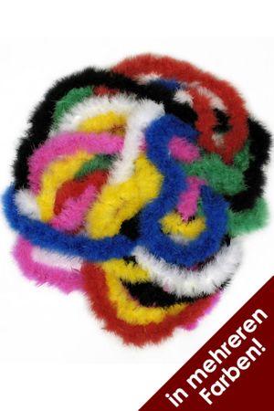 Marabufedern 2 mtr. Lang in verschiedenen Farben – Bild 1