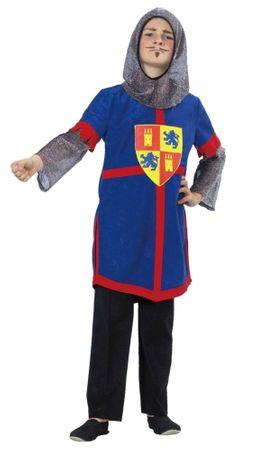 Faschingskostüm blauer Ritter für Jungen